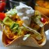 Taco Salad In Tortilla Bowl
