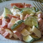 Easy Russian Tomato and Cucumber Salad